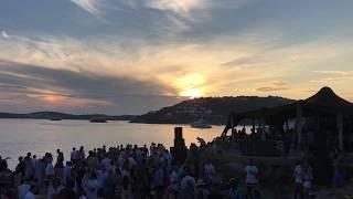 Scorpios Mykonos , Great Sunset , Amazing Music ,  Mykonos , Greece , Capturing Real Moments .