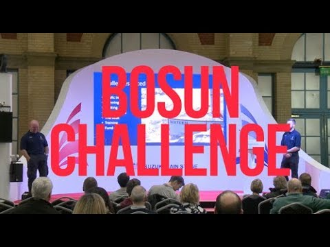 500 miles non-stop in a dinghy - Bosun Challenge - Full Suzuki Main Stage Talk - RYA Dinghy Show