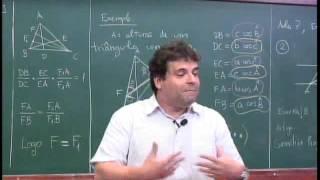 Geometria ( Teorema de Ceva e Teorema de Menelaus ) Nível 3