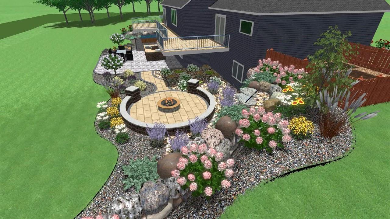 Delightful Smith Lawn And Landscape U2013 Madison Lake House Design ...