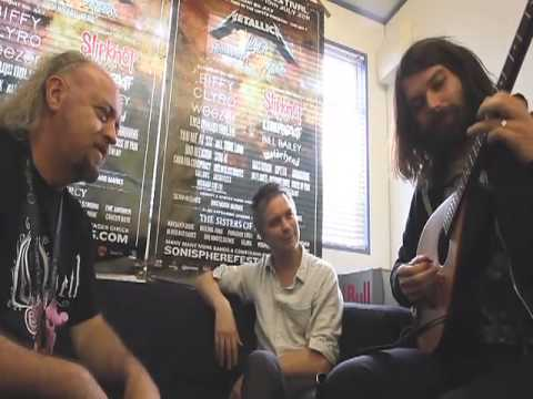Sonisphere TV: Bill Bailey meets Biffy Clyro at Sonisphere 2011