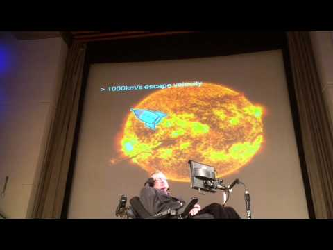 Stephen Hawking IMA lecture 2015 Cambridge University
