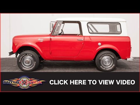 1969 International-Harvester Scout 800A (SOLD)