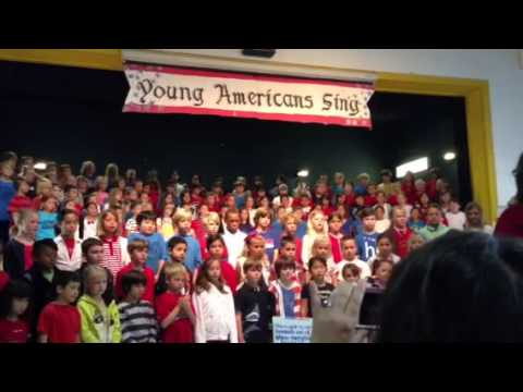 Young Americans Sing - El Morro Elementary 4.31.13