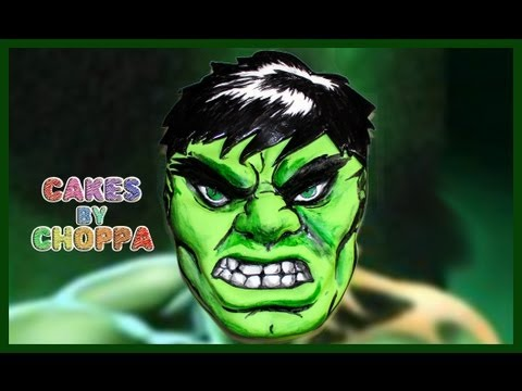 Easy Homemade Hulk Smash Cake