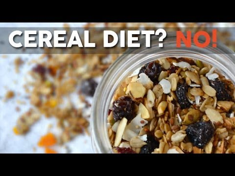 Why you shouldn't follow the Cereal diet?