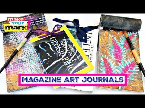 Magazine Art Journals