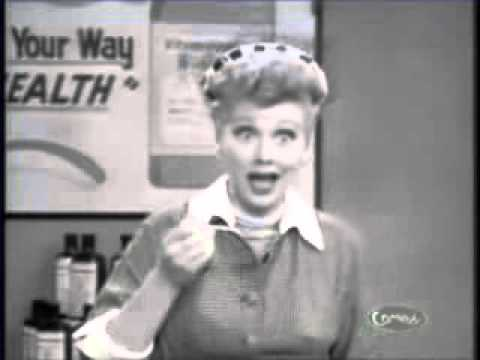 Lucille Ball in Vitameatavegamin