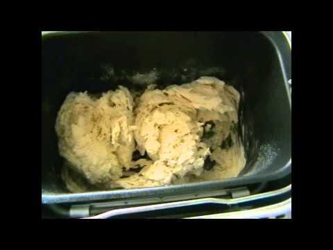 Обзор хлебопечки Мулинекс  и первичное выпекание белого и серого хлеба.