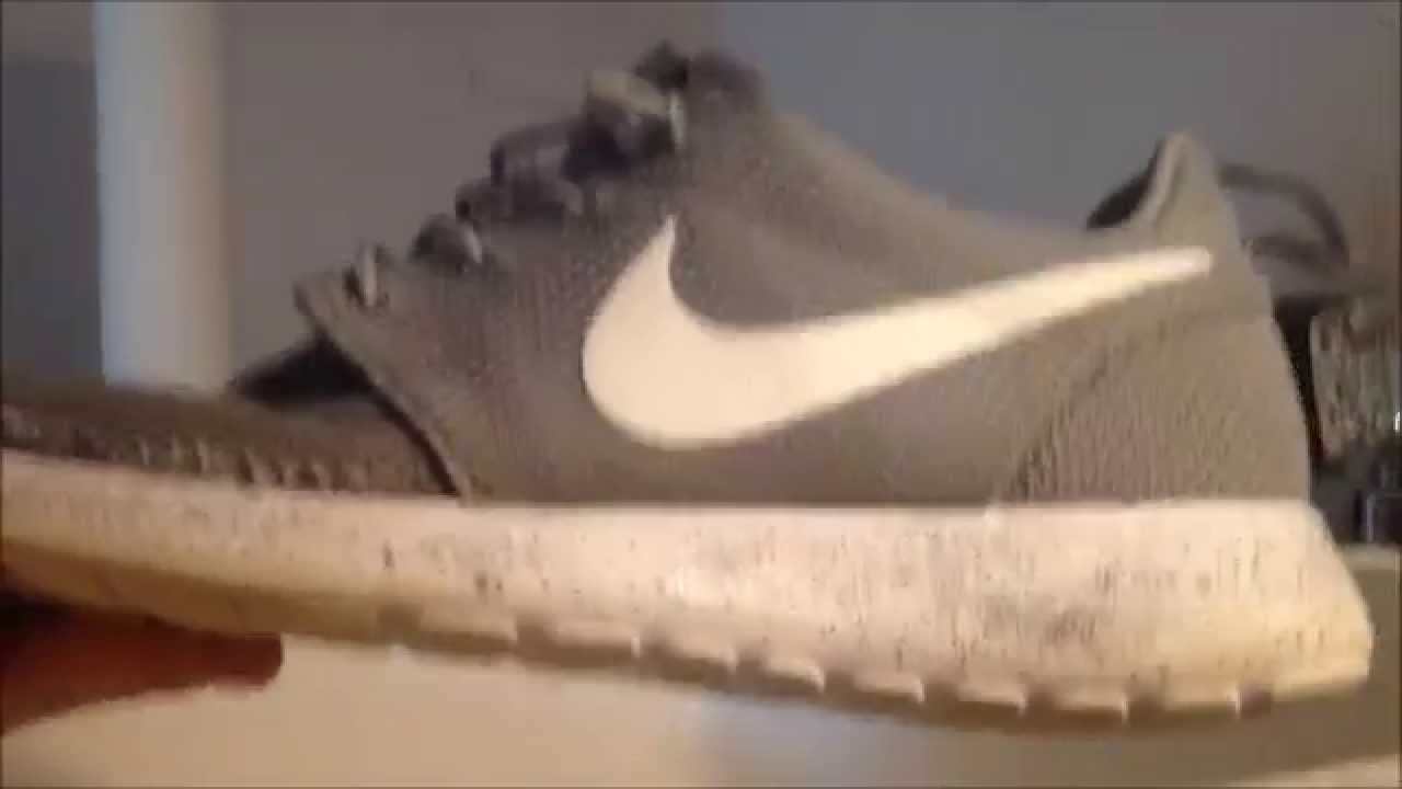 a22fc4544fb2 How to clean Roshe Runs - YouTube