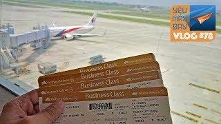 VLOG #78: Hướng dẫn đi máy bay cho người đi lần đầu | Yêu Máy Bay