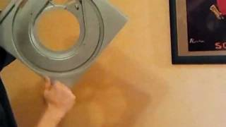 Damping of my Technics SP10 with butyl - before