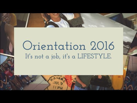 University of Maryland Summer 16' Orientation