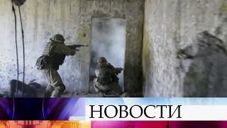 В Самарской области прошли учения спецназа.