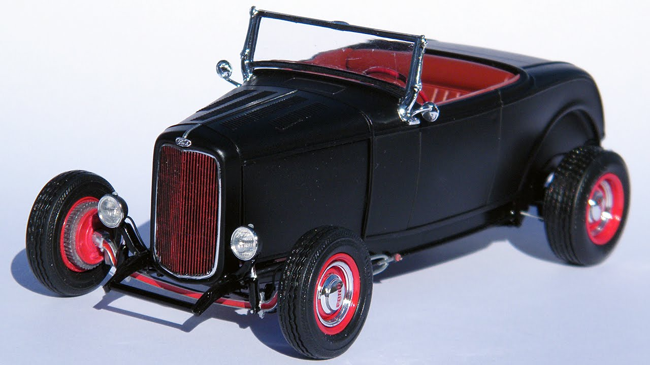 1 25 scale deuce of spades 32 ford roadster finished model youtube