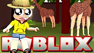 Don't Hurt Them!! Help Them!! - Roblox Zoo Tycoon - DOLLASTIC PLAYS!