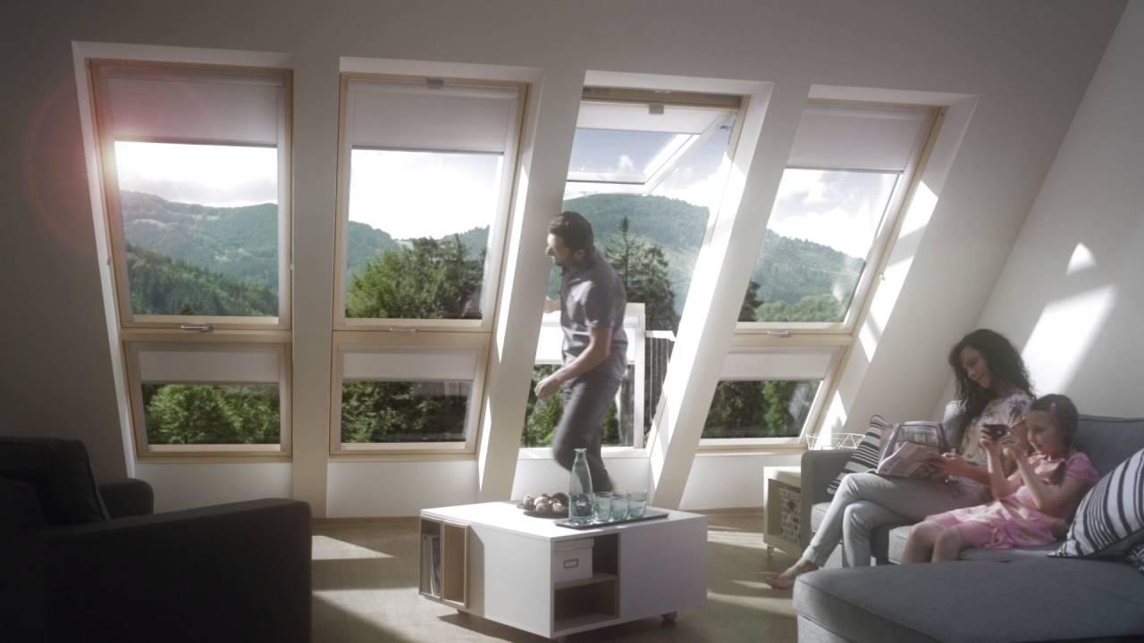 fakro roof windows balcony