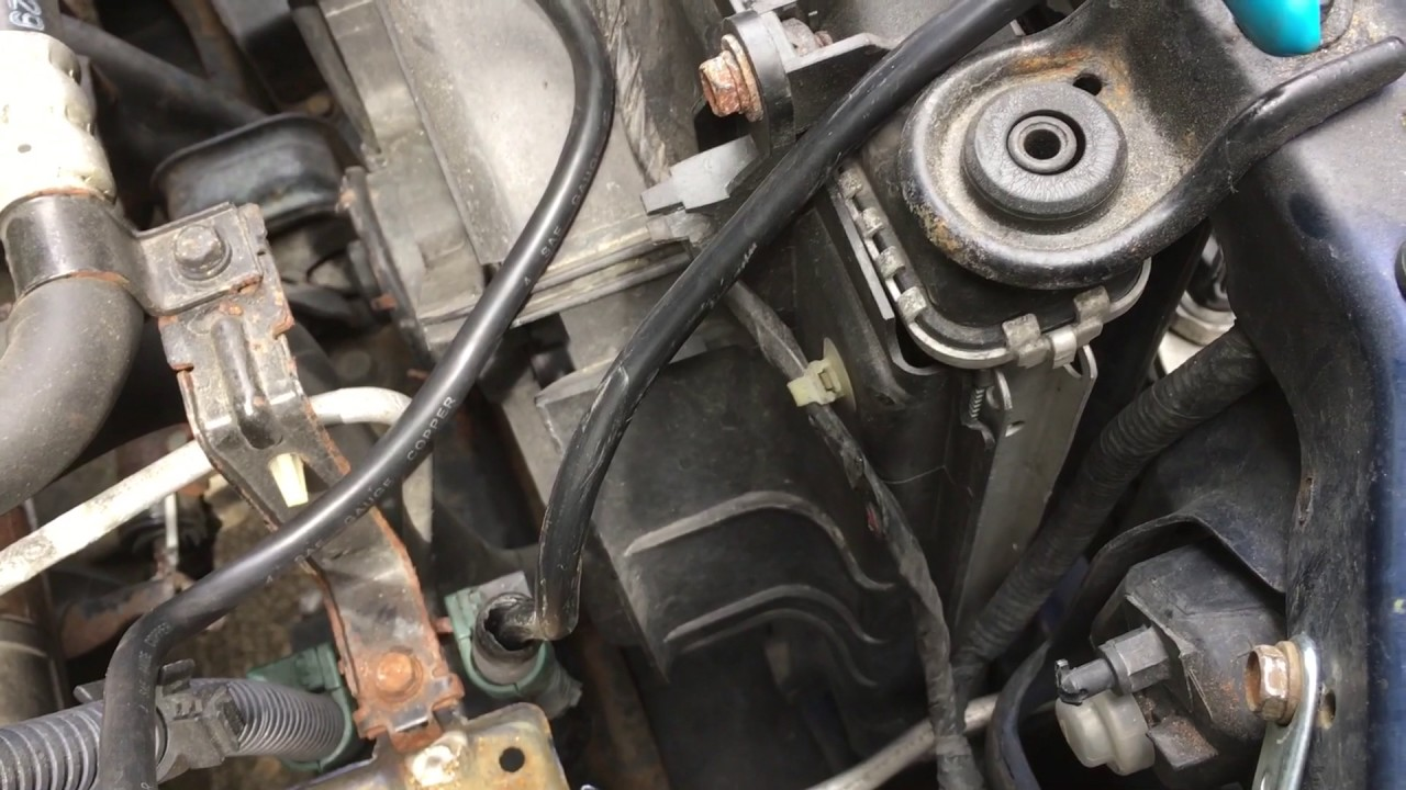 Changing Battery Cables On 2002 Honda Accord Youtube 1998 Civic Lx Wiring Harness
