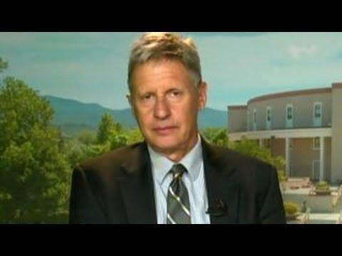 Gary Johnson: Eliminate corporate tax, cut military spending