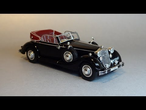 1938 Horch 853A Cabriolet 1/43 Minichamps