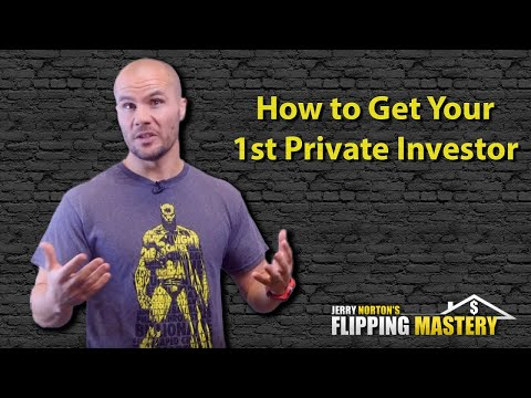 How to Get Your First Private Money Investor