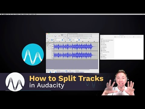 How to Split Tracks in Audacity