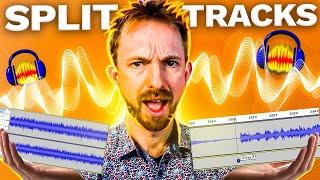 How to Split Tracks in Audacity