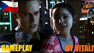 Detroit Become Human Demo CZ PS4 GamePlay By Vitali