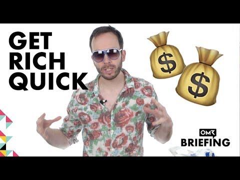 Kann man Geld verdienen mit Get-Rich-Quick-Guides? - OMR Briefing Episode #15