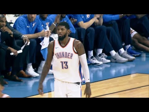 Paul George Scores 25 Points in Thunder Win Over Pelicans