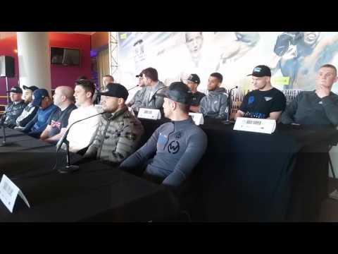 Matchroom Boxing press conference in Birmingham full