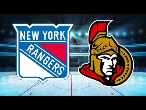 New York Rangers vs Ottawa Senators (3-6) – Feb. 17, 2018 | Game Highlights | NHL 2018