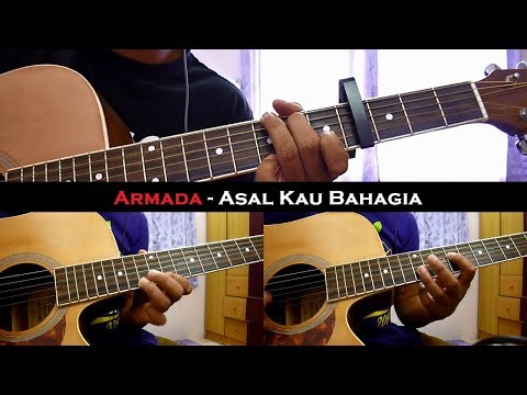 Armada - Asal Kau Bahagia (Instrumental/Full Acoustic/Guitar Cover)