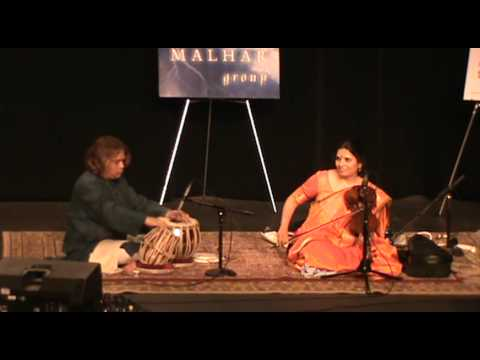 Hindole Majumdar(Tabla) in Concert with Vidushi Kala Ramnath(Violin) Live in Toronto