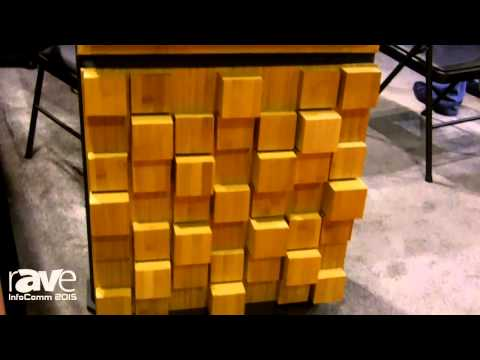 InfoComm 2015: Auralex Acoustics Gives rAVe Details About The Sustain Series Bamboo Sound Diffusors