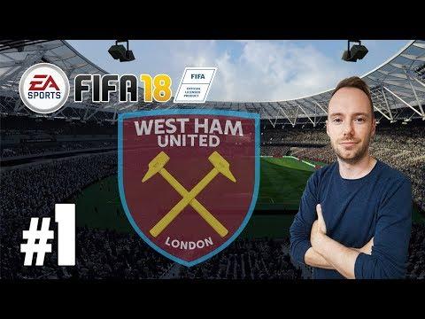 Let's Play FIFA 18 - #1 Karriere mit West Ham United [Deutsch / Karrieremodus]