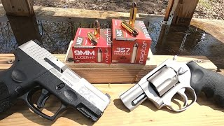 9mm+P VS .357 Magnum Short Barrels Episode 4. Inceptor Preferred Defense ARX