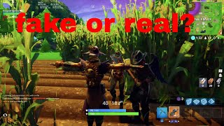 Scarecrow prank in fortnite! (it works!!) INSANE