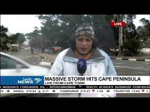 UPDATE: Massive storm hits Cape Peninsula