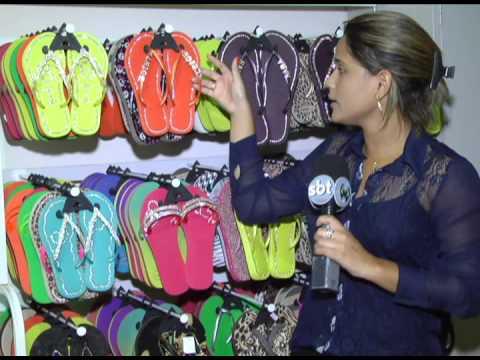 3214edbf19 Nova moda chinelos com nome na correia - YouTube