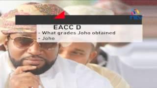 Joho papers: EACC detectives probe Joho education background