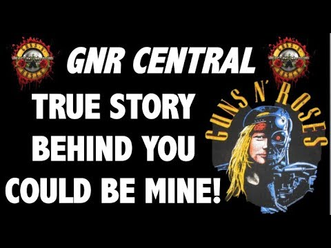 Guns N Roses  The True Story Behind You Could Be Mine! Terminator 2!