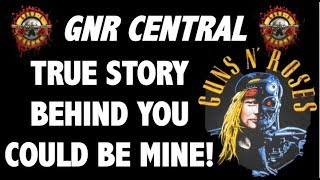 Guns N' Roses  The True Story Behind You Could Be Mine! Terminator 2!