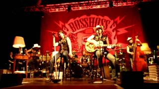 "The BossHoss mit ""Rodeo Queen"" Berlin 2010"