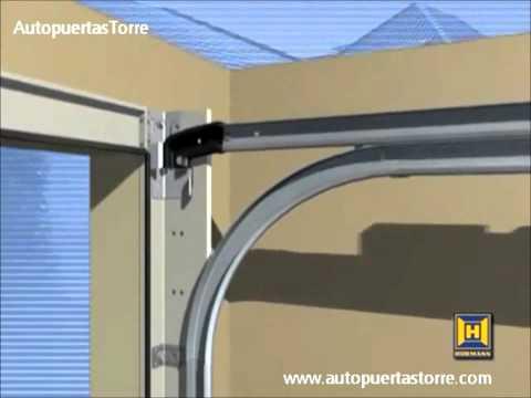 Instalaci n puerta de garaje seccional autopuertastorre for Puertas para piezas