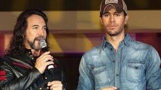 """Enrique Iglesias & Marco Antonio Solis """"El Perdedor"""" éxito 2014"""