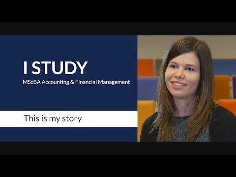 A student on the RSM MSc in Accounting & Financial Management