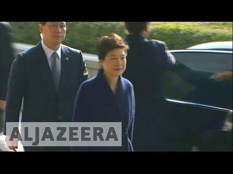 South Korea : Former president Park Geun-hye detained