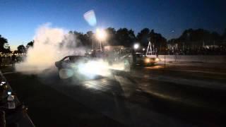 Roadkill Charger Versus Fast & Loud Dart - Hellcat Shootout