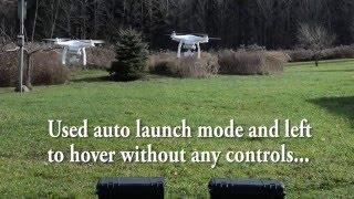 dji Carbon Fiber Reinforced vs Stock Plastic props on Phantom 3 Pro Hover Test